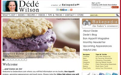 Dede Wilson: Cookbook Author & Bon Appetit Contributing Editor